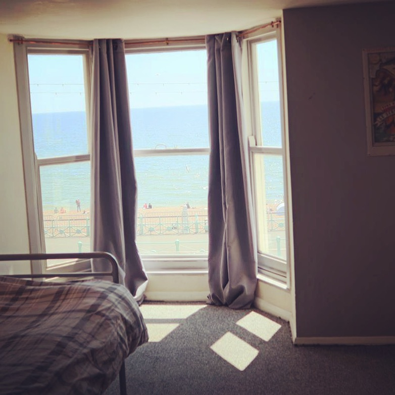 Double room at the view brighton